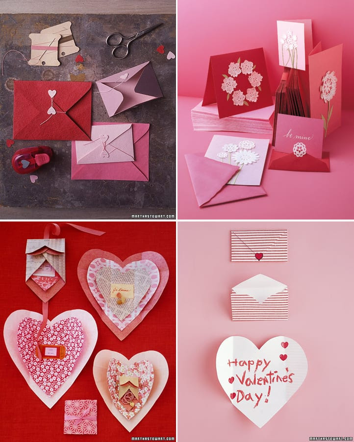 ideas for valentines cards – Martha Stewart Valentines Day Cards