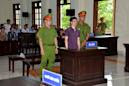 Vietnam environmental activist 'beaten' in jail: wife