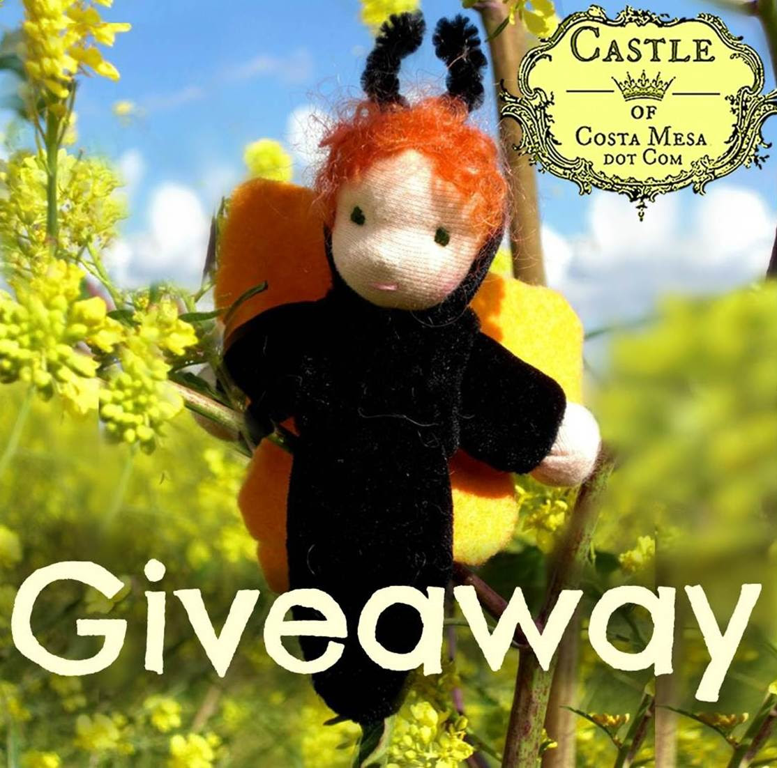 Enter to win a Handmade Caterpillar Doll That Turns Into a Butterfly - Ends 03/18/13