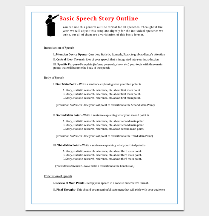 Blank Worksheet Summary PDF And Word Outline Format 15