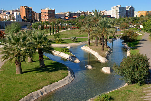Valencia: A Bike Tour In The Turia Gardens In Search For Free Attractions