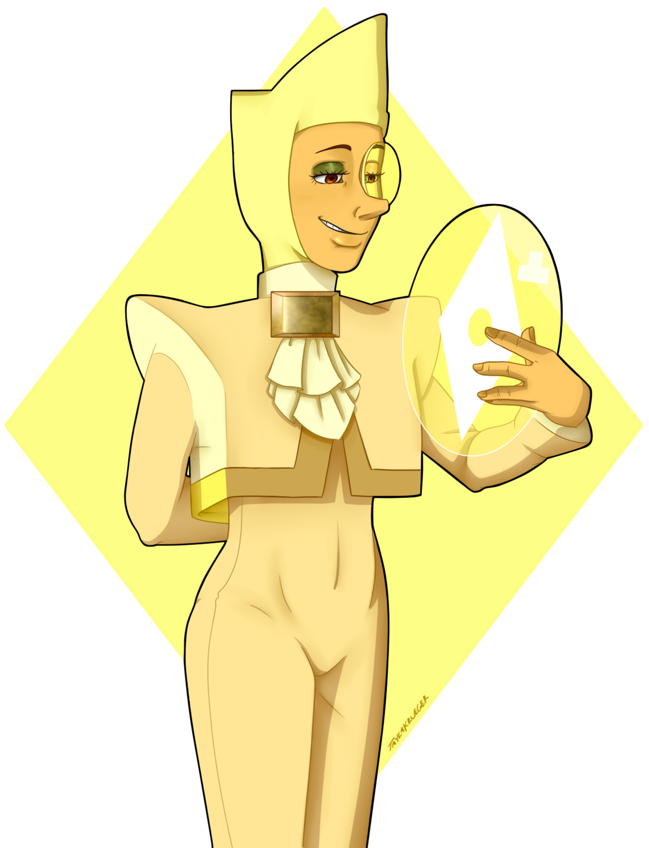 Art of ace attorne-I mean Yellow Zircon