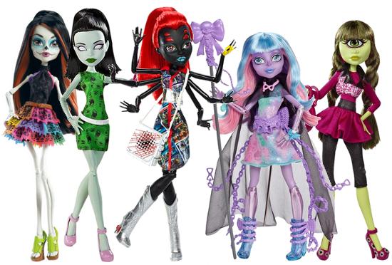 Foto de los nuevos modelos 2016 de las muñecas Monster High