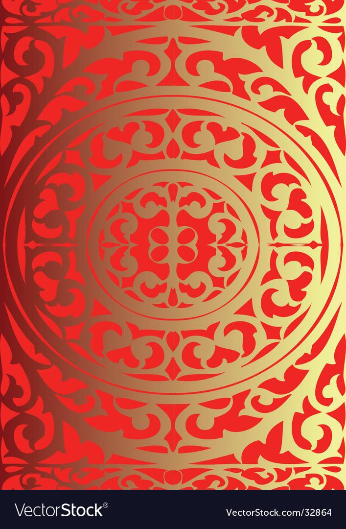 art nouveau patterns. Art Nouveau Style Pattern