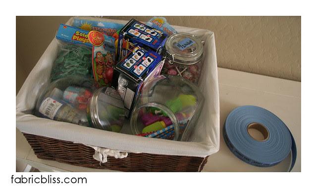 chore store basket of merchandise