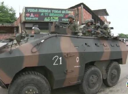 Forças Armadas realizam uma operação conjunta (Foto: Divulgação)