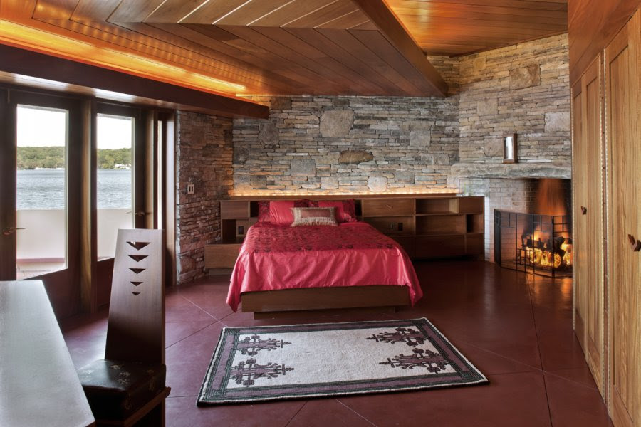 Luxury Wooden Ceiling Design For Bedroom