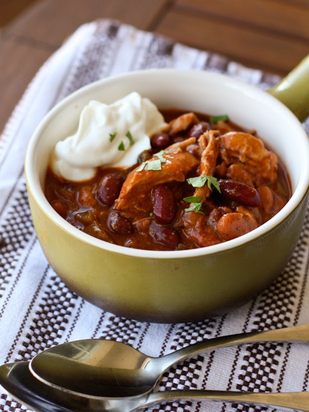 Red Chicken Chili | Aggie's Kitchen
