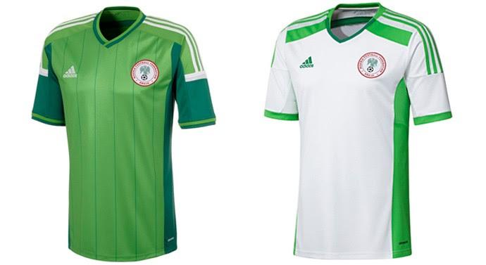 nigéria camisa copa