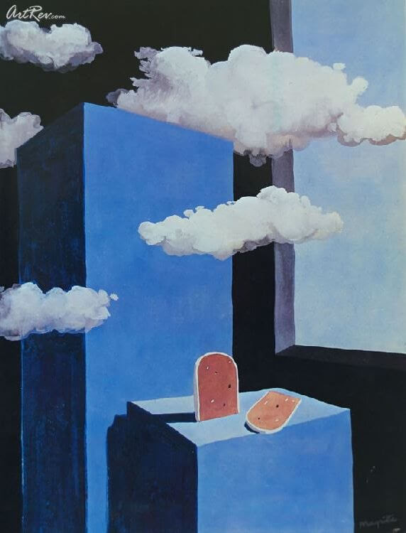 The Poetic World, 1939 by Rene Magritte