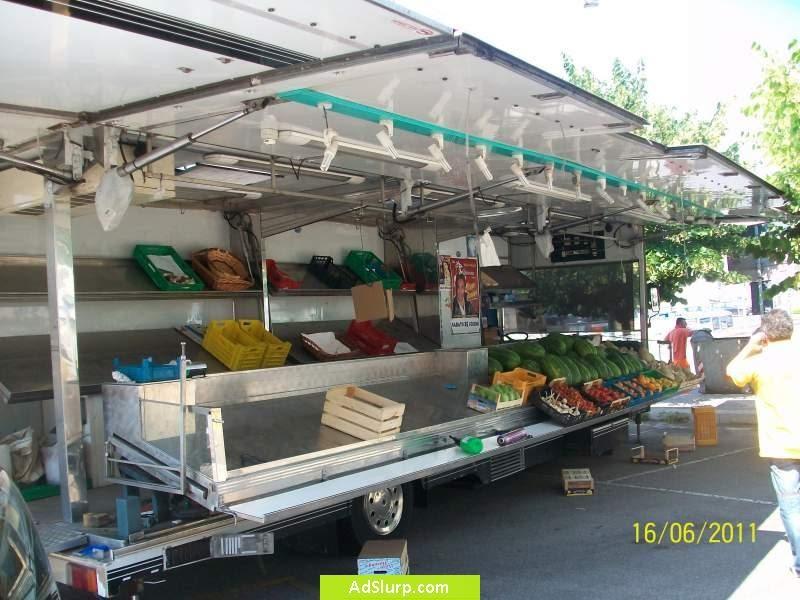 Forno rotor cucina autonegozio frutta e verdura for Compro arredamento usato