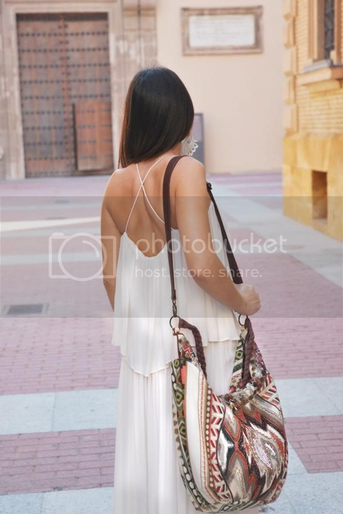 White Dress StreetStyle