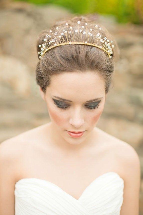 20 Wedding Hairstyles with Crown Ideas - Wohh Wedding
