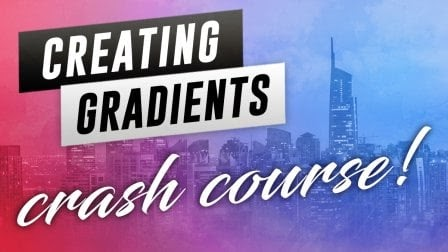 Skillshare Free Class-Creating Gradients Crash Course - Adobe Illustrator