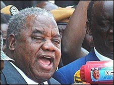 Zambia's former President Rupiah Banda was sworn in on Sunday, November 2, 2008. He served as vice-president prior to the death of former head-of-state Levy Mwanamasa. by Pan-African News Wire File Photos