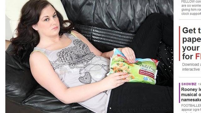 Zara usa sacos de vegetais congelados para inibir a excitação