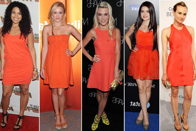 Resultado de imagem para Look orange tendencia 2017