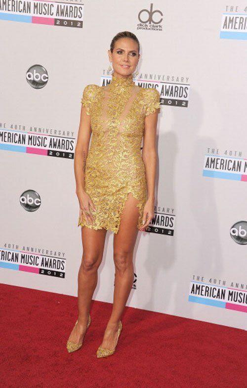 40th American Music Awards - November 18, 2012, Heidi Klum