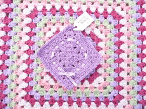 'Lavender Lace' Challenge. Thank you!