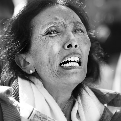 Protest for Tibet
