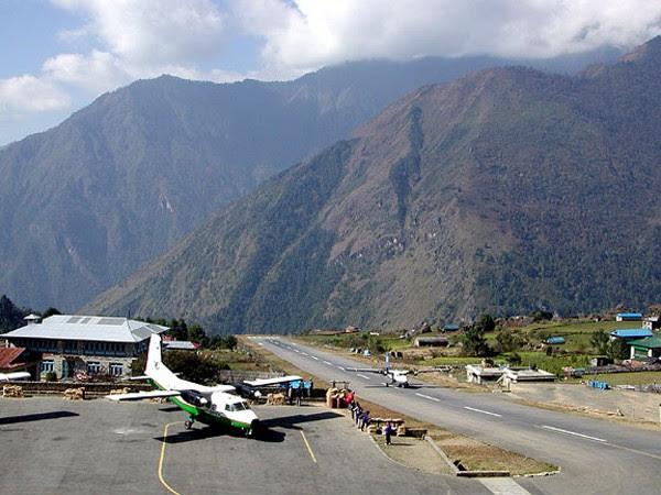 4. Tenzing Hillary Airport, Nepal