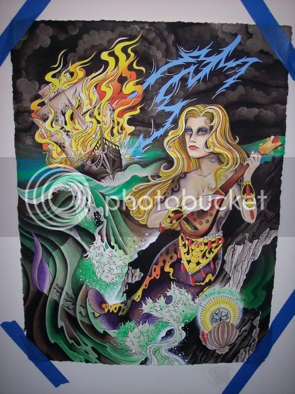 neal scoggins mermaid painting