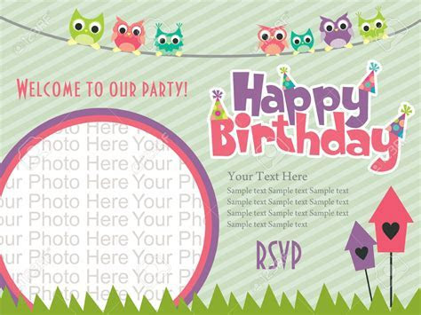 Latest Birthday Invitation Card Designs   Best Party Ideas