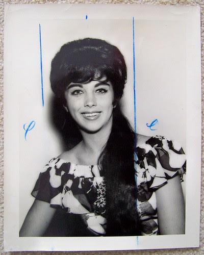 1950s LINDA MANNING WLW-T TV 5 press photo (Linda Elane Manning Grissom)