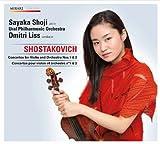 ショスタコーヴィチ:ヴァイオリン協奏曲第1番、同第2番 (Shostakovich : Concertos for Violin and Orchestra Nos.1 & 2 / Sayaka Shoji, Ural Philharmonic Orchestra, Dmitri Liss) [日本語解説付輸入盤]