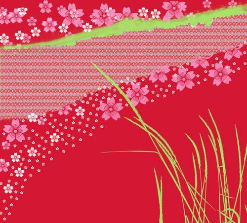 sakura shibori
