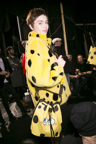 Moschino Fall 2014 - Backstage
