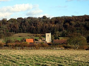 English: The Church of St John the Baptist, fr...