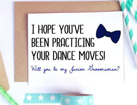 Junior Groomsman Card, Groomsman Proposal, Ring Bearer