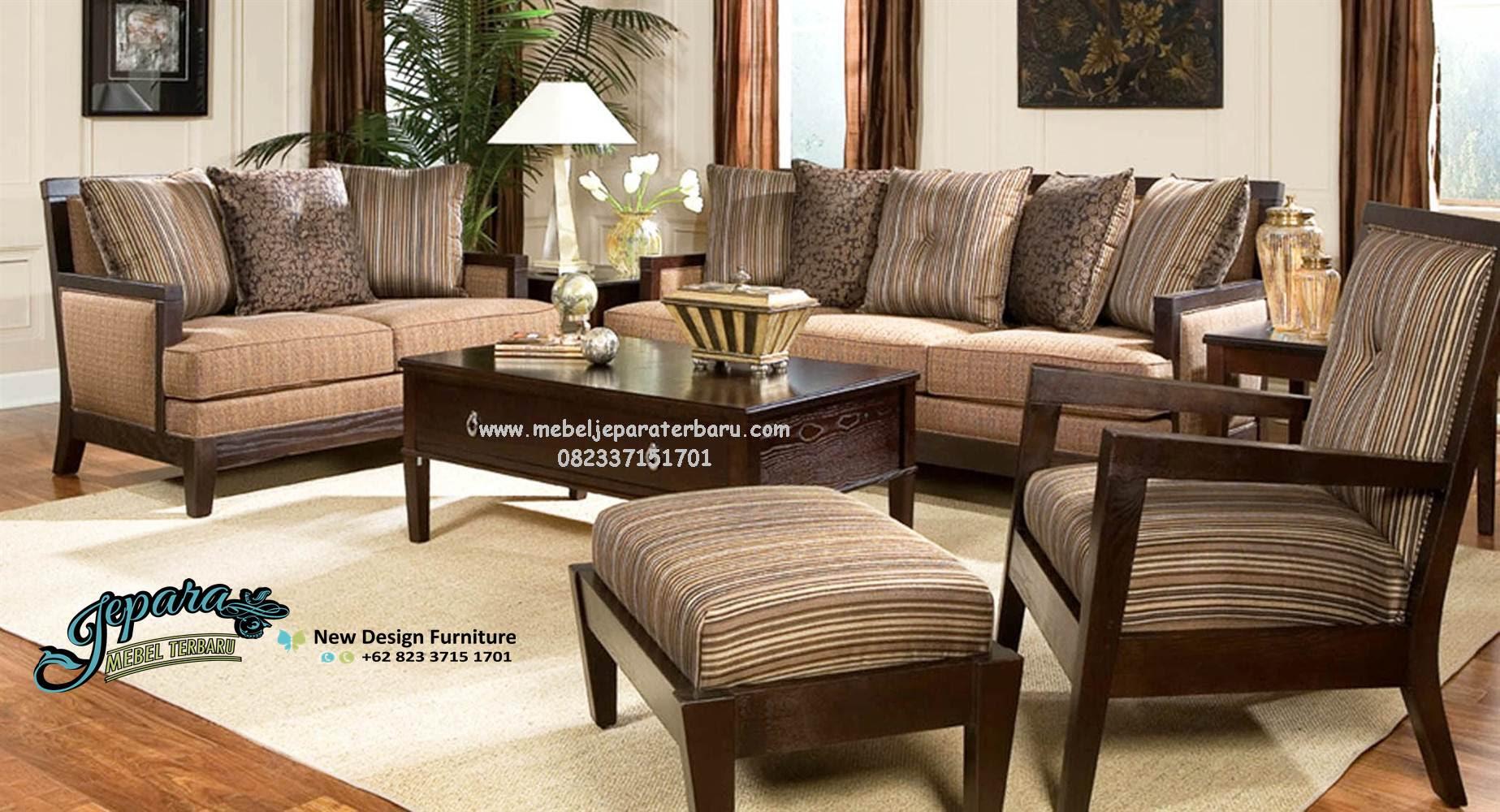 Set Kursi Sofa Tamu Minimalis Terbaru Klasik Mewah SST 061 Harga