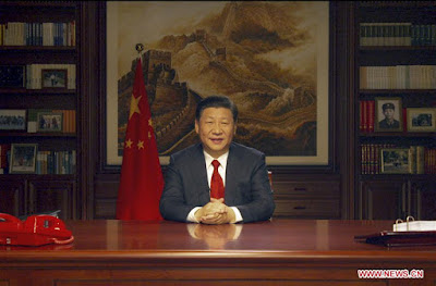 Chinese President Xi Delivers New Year Speech Vowing To Implement Reforms In 2018