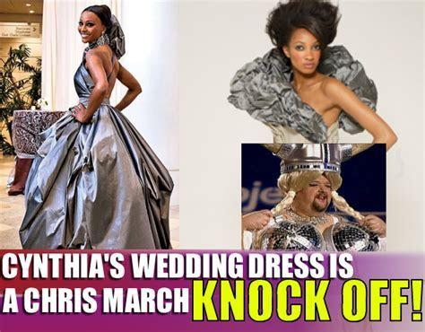 the HotMezz Blog: Cynthia's Wedding Dress Knock Off