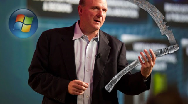 Steve Ballmer, the reaper of Windows 7