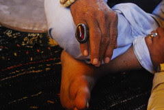 I Place My Silver Antique Ruby Ring On The Finger of My  Peer by firoze shakir photographerno1