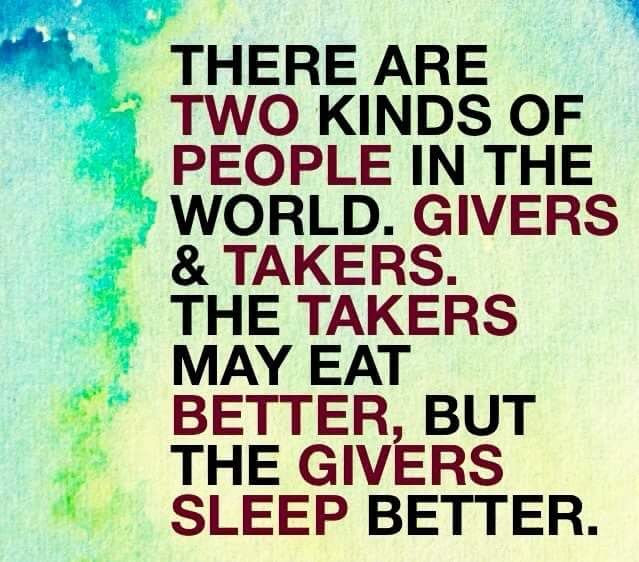 Image result for givers and takers
