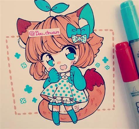atibuchuan instagram cute chibis pinterest dessin