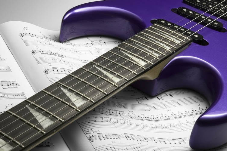 tablature, tab gitar, istilah tab, mengenal simbol tab, hammer on, sliding