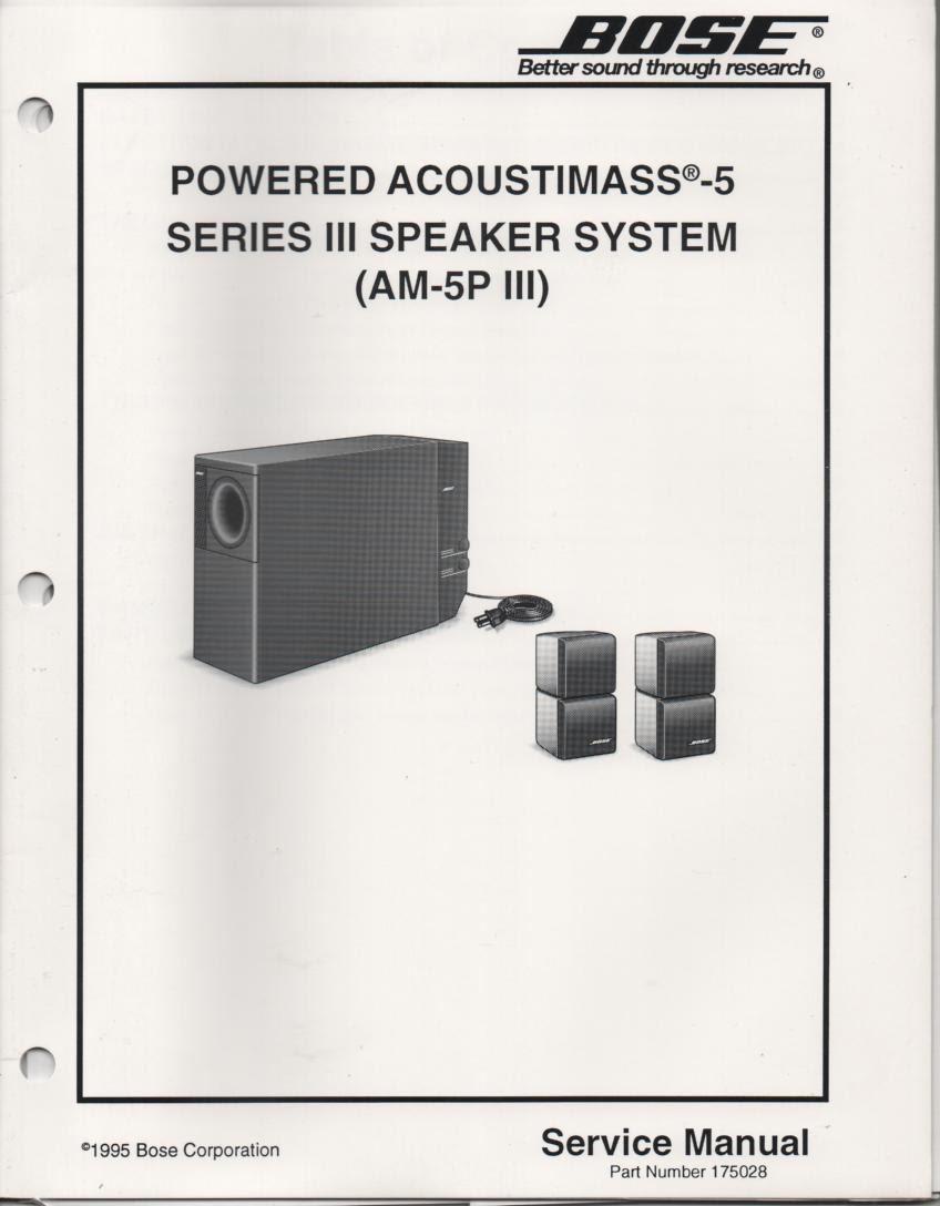 33 Bose Acoustimass 5 Series Ii Wiring Diagram