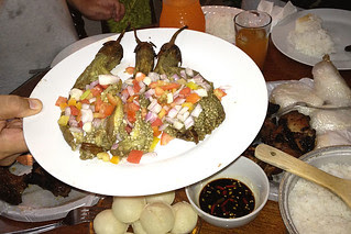 Eating in Manila - Eggplant