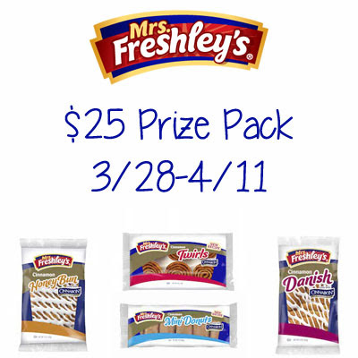 Mrs. Freshley's $25 Prize Pack Giveaway