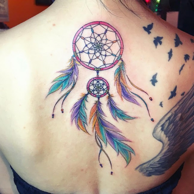 80 Best Dreamcatcher Tattoo Designs Meanings Dive Deeper 2018