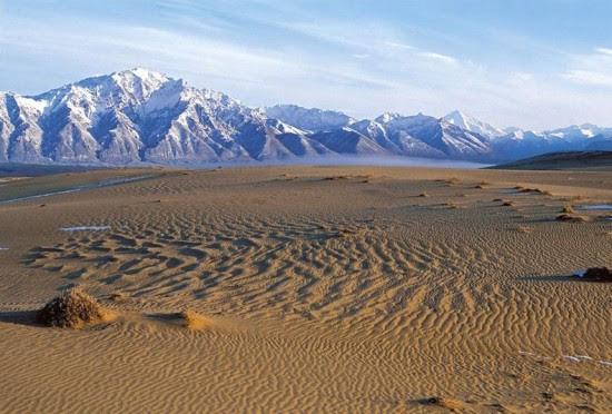 perierga.gr - Μια έρημος στο κέντρο της... Σιβηρίας!