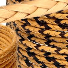 Fibra de palmera de arumá,