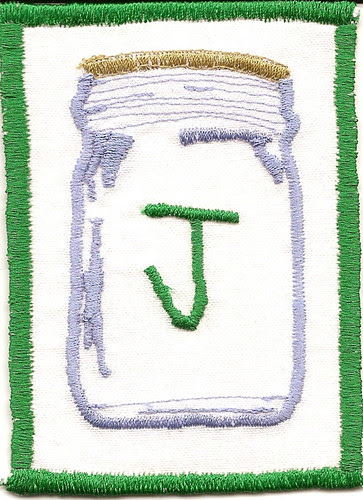 j is for jar