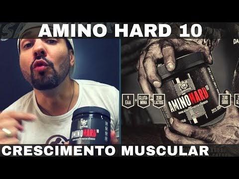 AMINO HARD 10 DARKNESS INTEGRALMEDICA Conjunto de Aminoácidos para Melhor Crescimento Muscular