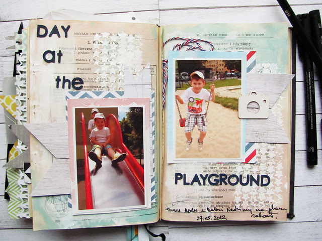 {memory book- Boys }-day at the playground